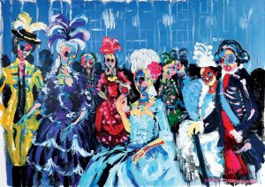 "Marie's Ball was a part of Bradley Theodore Harvey's ""Son of the Soil"" exhibition at the Maddox Gallery in London in May."