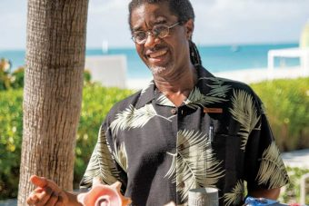David Bowen is the Grace Bay Resorts: Director of Wellness, Culture & Entertainment.